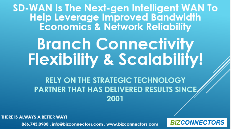 SD-WAN Solution - Flexible & Cost-Effective Solution for Branch Offices Connectivity