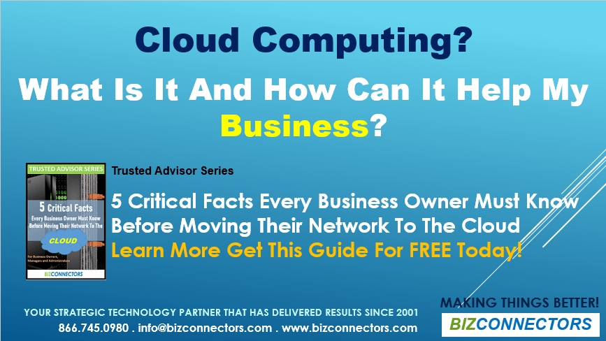 Cloud Solutions & Cloud Computing - Bizconnectors