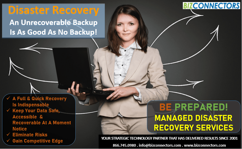 Cloud Backup Services - Backup & Disaster Recovery + Business Continuity Solution