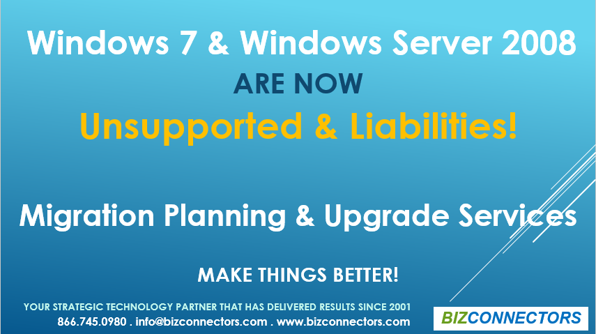 Windows 7 and Windows Server 2008 Upgrade