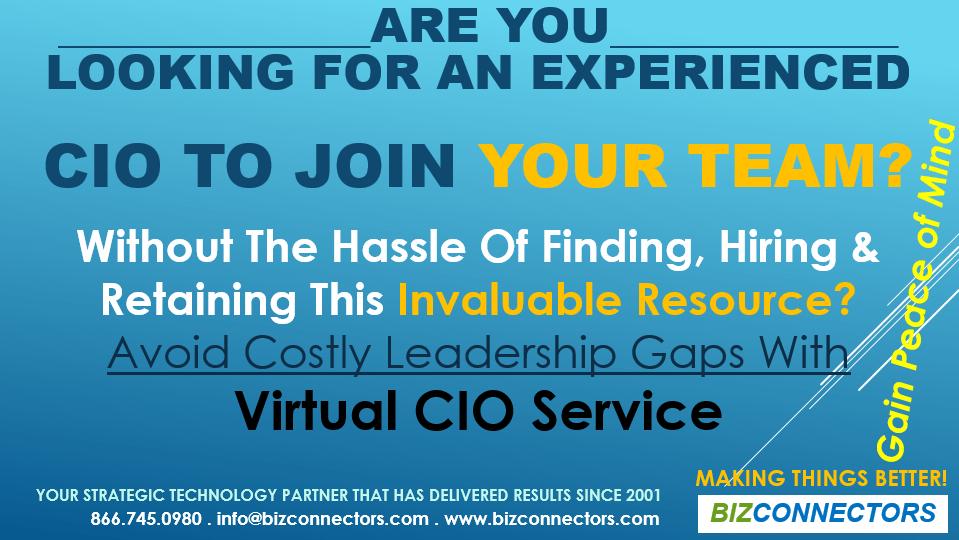 Virtual CIO Service - Bizconnectors