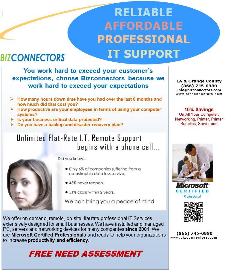 IT Support & Help Desk Service