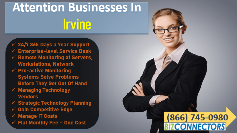 Irvine IT Support & Services