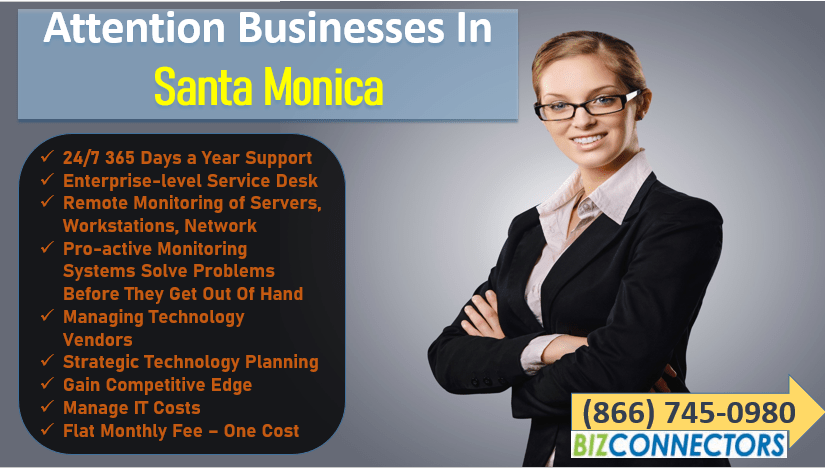 Santa Monica IT Support and IT Services