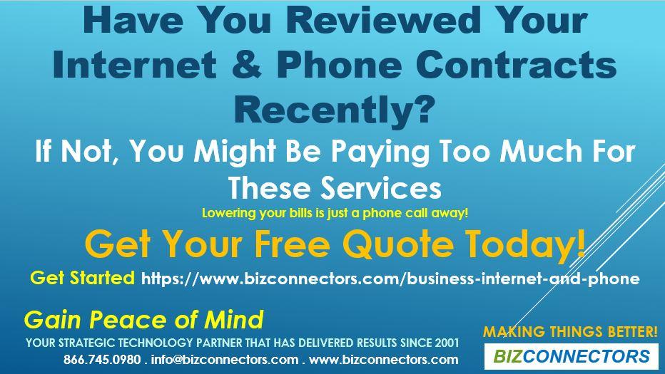 phone and internet bundles