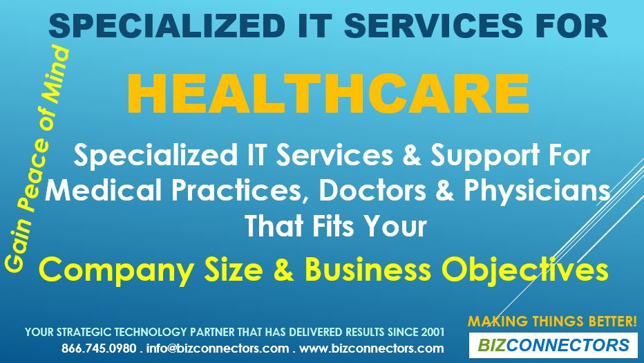 Specialized IT Services For Healthcare