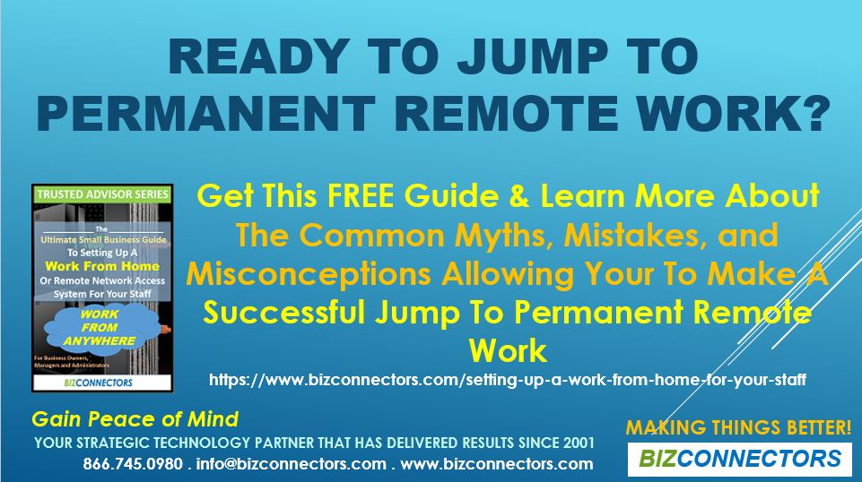 Ready to jump to Permanent Remote Work