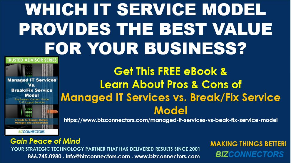 What Are The Break/Fix And Managed IT Services Service Models And What Are Their Differences?