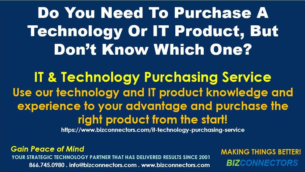 IT & Technology Purchasing Service