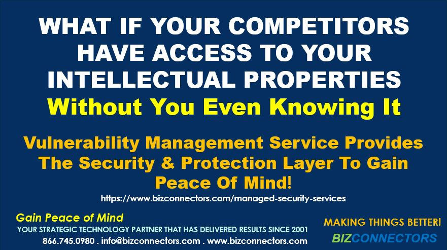 Can your competitor access your intellectual properties?