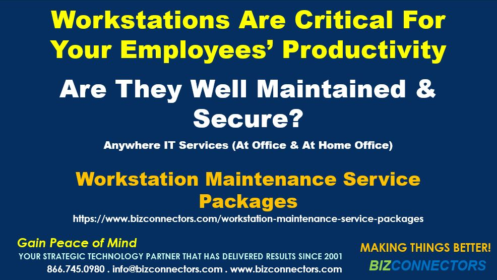 Workstation Maintenance Service Packages