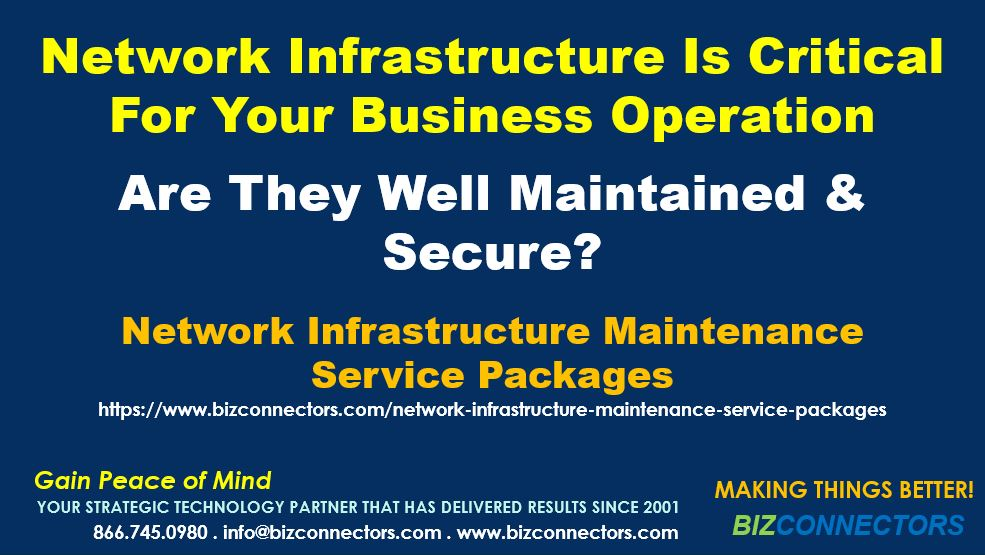Network Infrastructure Maintenance Service Packages