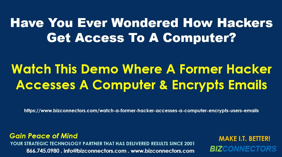 Watch This Demo Where A Former Hacker Accesses A Computer & Encrypts Emails