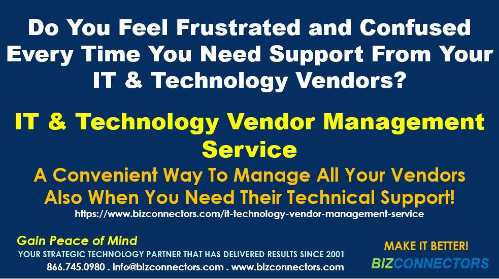 IT & Technology Vendor Management Service
