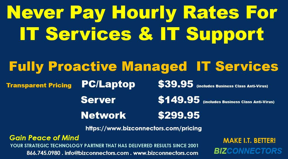 Fully Proactive Managed IT Services With Transparent Pricing