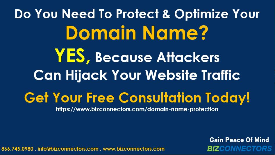Domain Name Protection & Speeding Up DNS Response Time