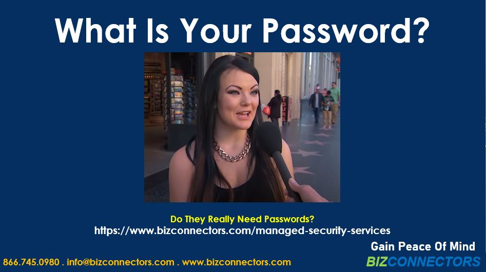 What Is Your Password?