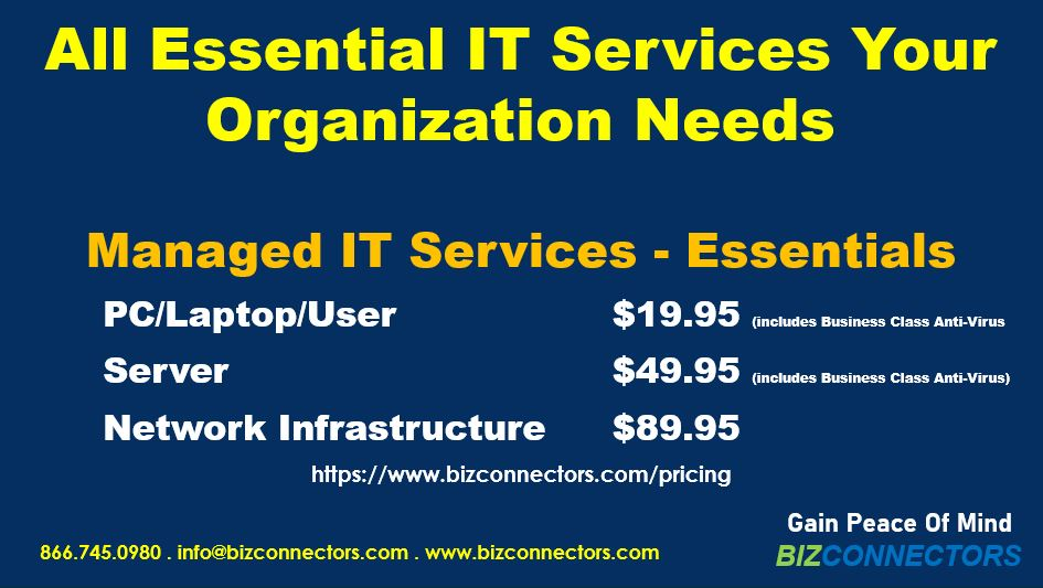 Managed IT Services - Essentials