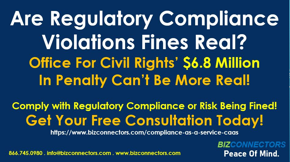 Are Regulatory Compliance Violations Fines Real?
