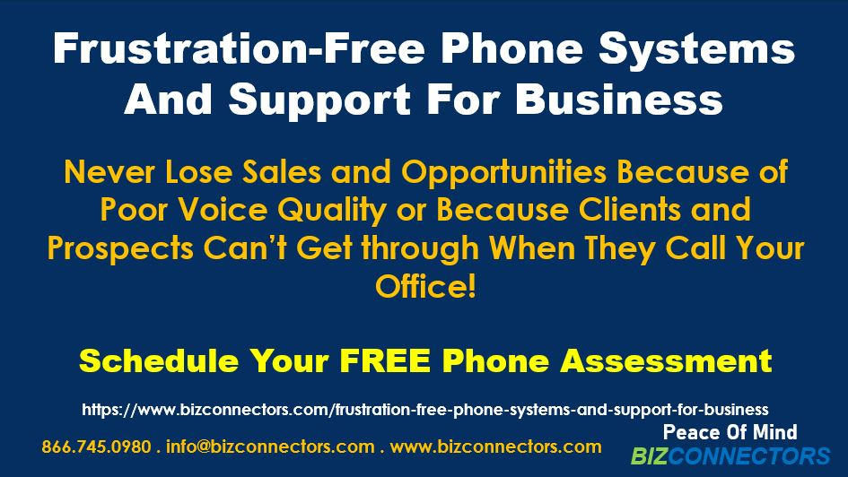 Frustration-Free Phone Systems And Support For Business