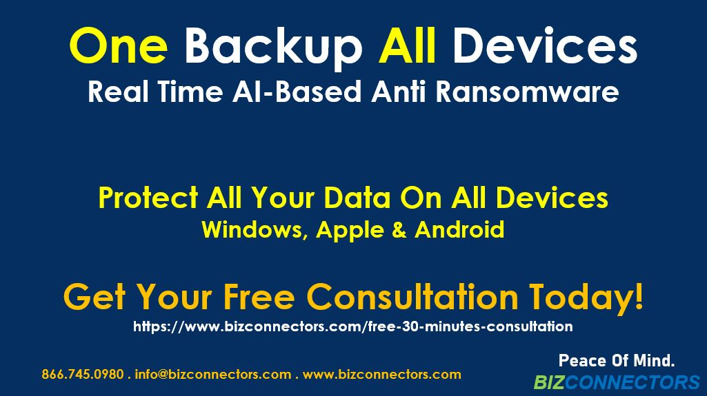 One Backup All Devices