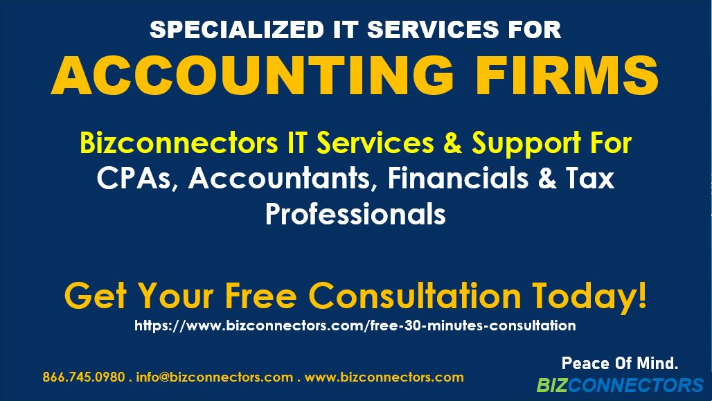 Specialized IT Services For Accounting and CPA firms