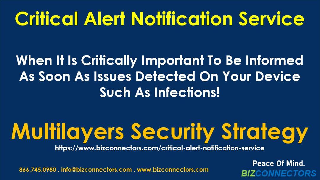 Critical Alert Notification Service