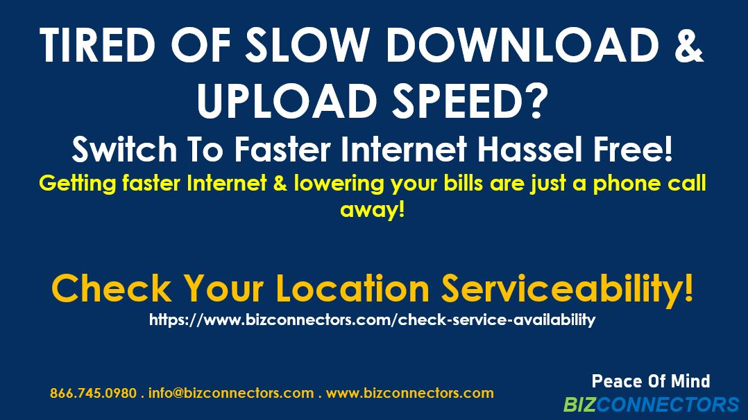 Switch To Faster Internet & Lower Your Monthly Costs