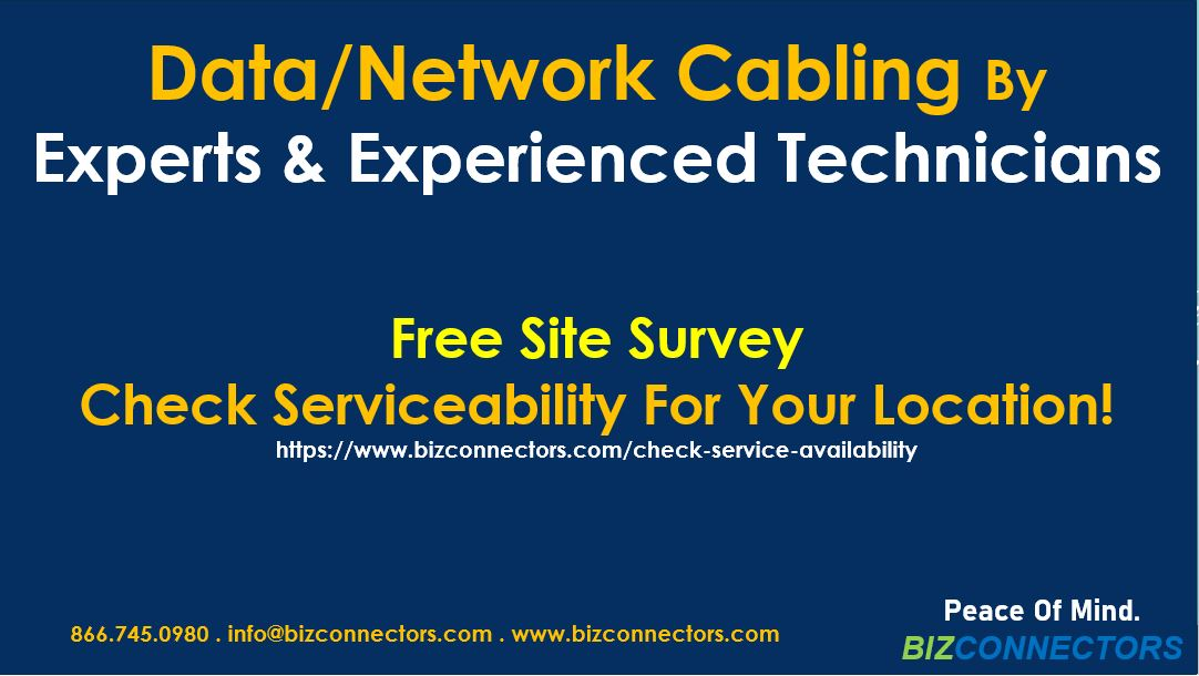 Expert And Professional Network Cabling Services By Experienced Technicians