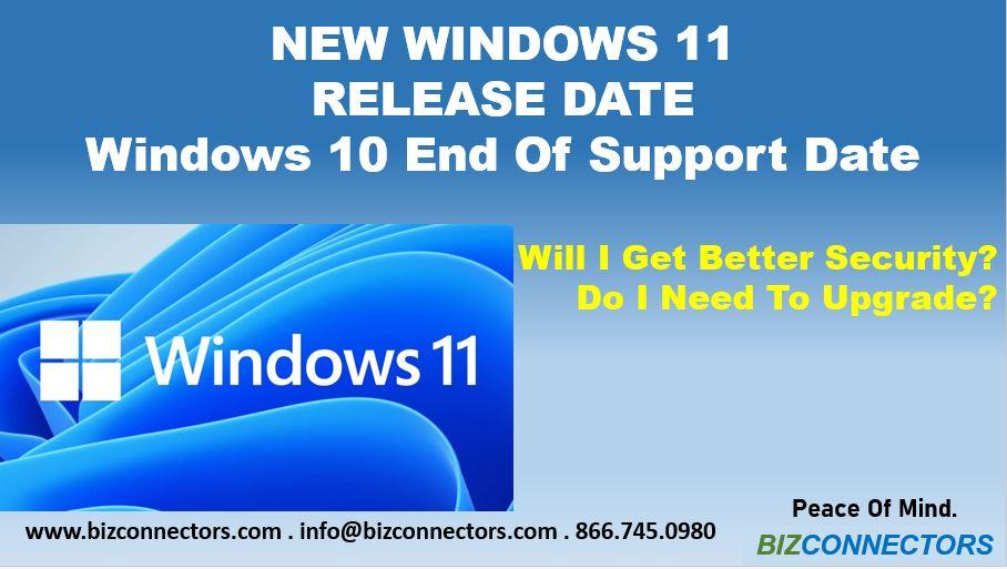 Windows 11 Release Date & Windows 10 Upgrade Planning
